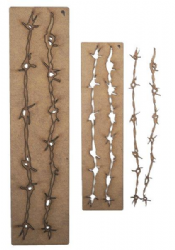 Creative Expressions - Art-Effex - Barbed Wire Border